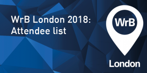 WrB London: 2018 latest attendee list